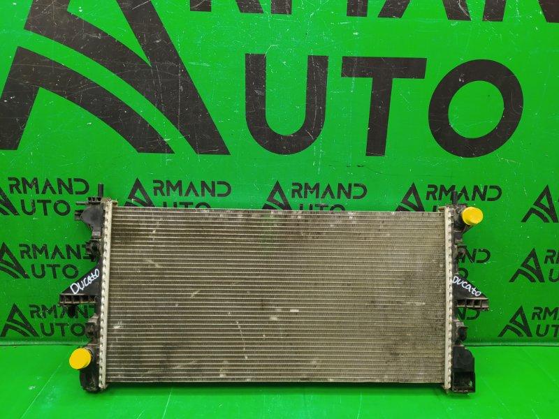 Радиатор охлаждения Fiat Ducato 3 2006 (б/у)