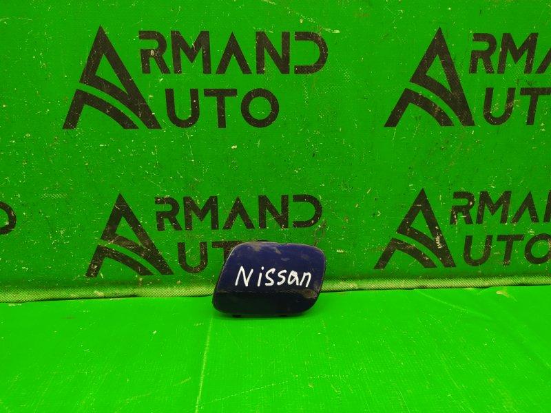 Заглушка буксировочного крюка Nissan Tiida C13 2015 передняя (б/у)