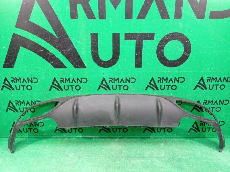 Юбка бампера amg Mercedes E W213 C238 2016 задняя (б/у)