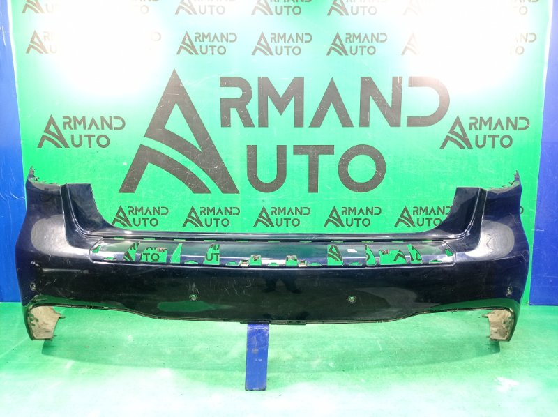 Бампер amg Mercedes Gls X166 2015 задний (б/у)