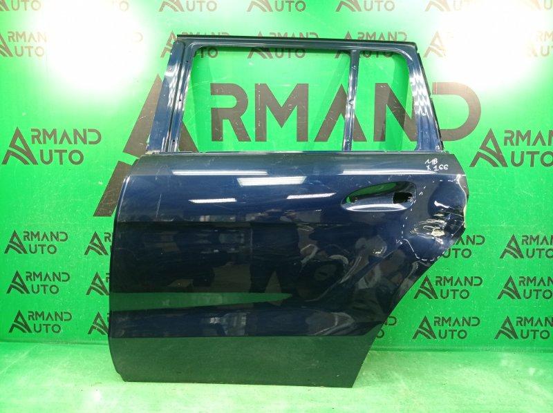 Дверь Mercedes Gl X166 2012 задняя левая (б/у)
