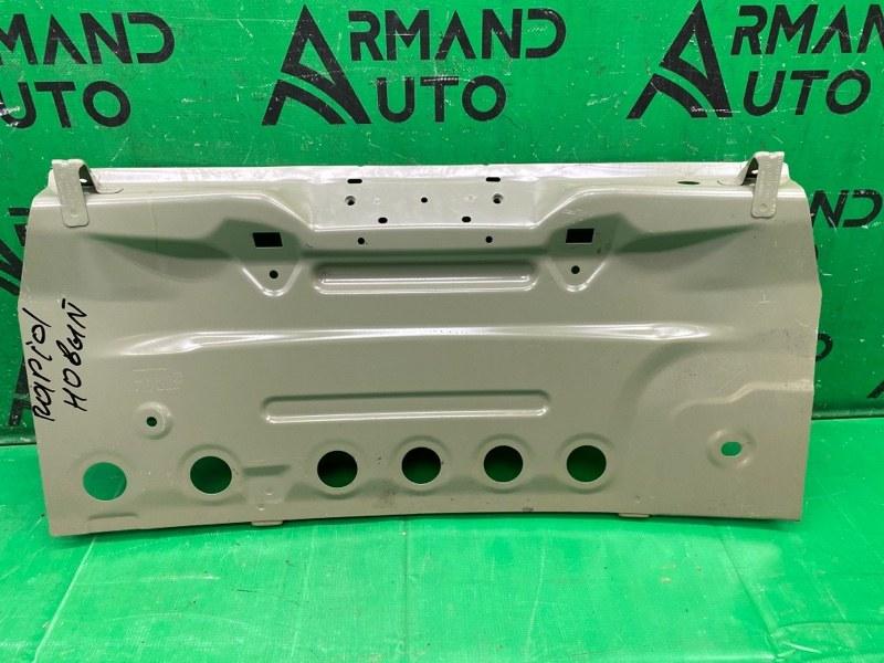 Панель кузова задняя Skoda Rapid 2012