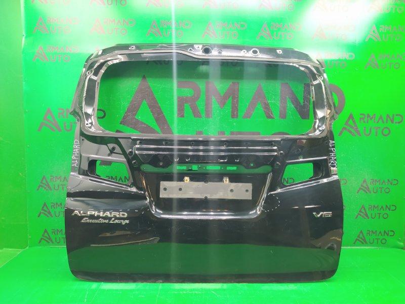 Дверь багажника Toyota Alphard 3 2015 (б/у)