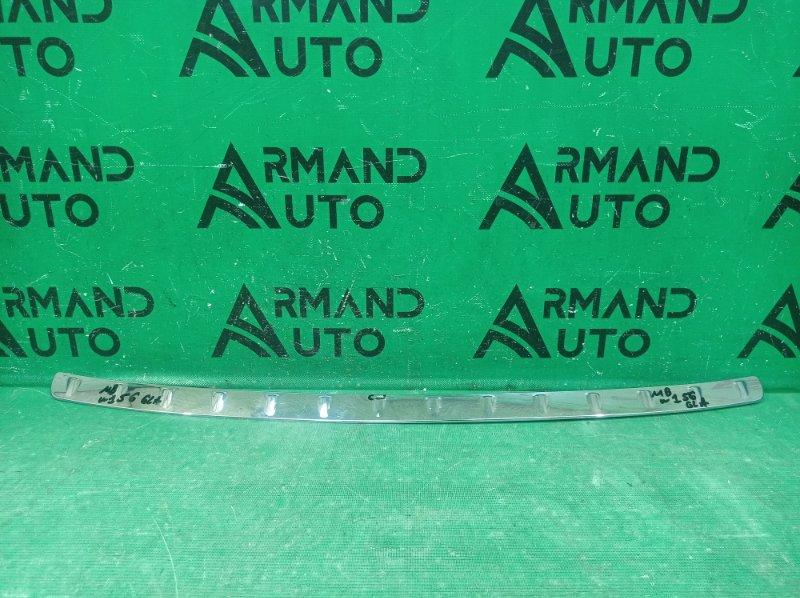Накладка бампера Mercedes Gla X156 2013 задняя (б/у)