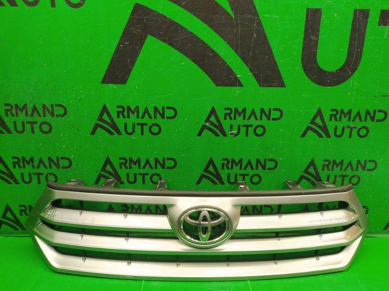 Решетка радиатора Toyota Highlander 2 РЕСТАЙЛИНГ 2010 (б/у)