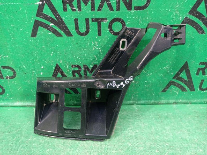 Кронштейн бампера Mercedes Ml W166 2011 задний правый (б/у)