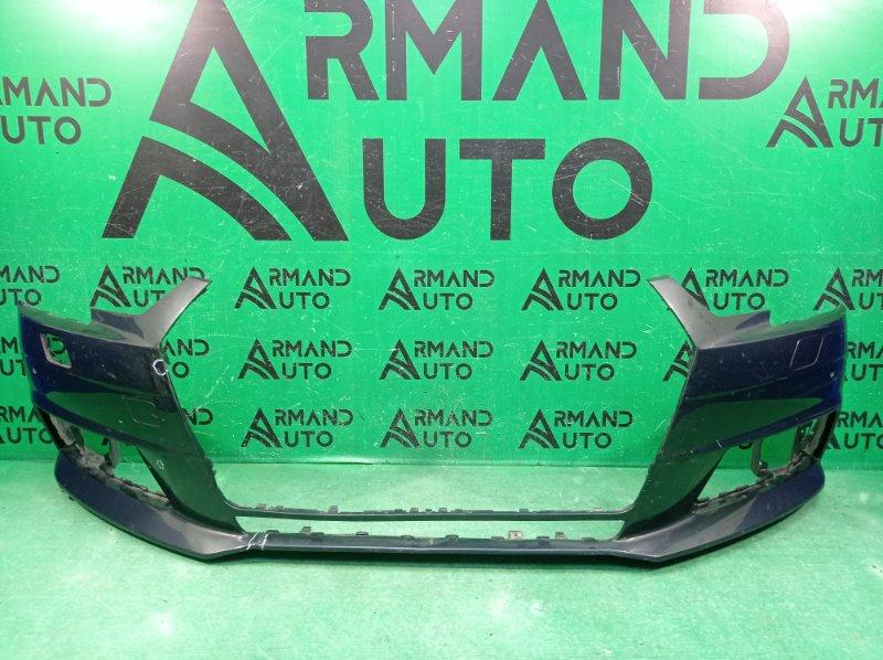 Бампер Audi A4 B9 2015 передний (б/у)