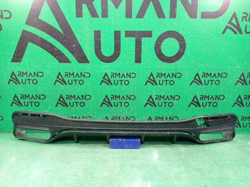 Юбка бампера amg Mercedes Gle W166 2015 задняя (б/у)