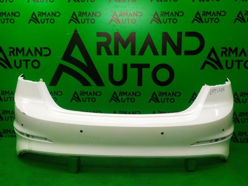 Бампер Hyundai Elantra 6 2015 задний (б/у)