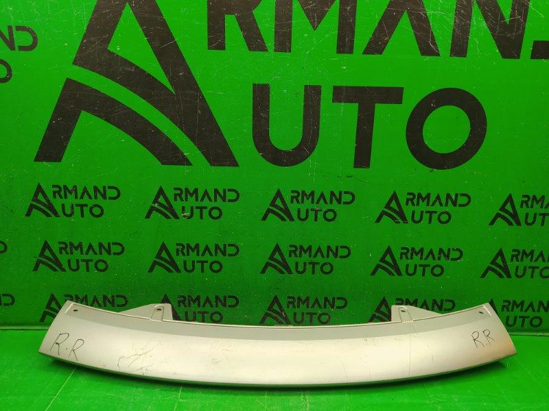 Накладка бампера Land Rover Range Rover Sport 1 РЕСТАЙЛИНГ 2010 передняя (б/у)