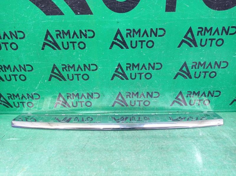 Накладка бампера Mercedes Gl X166 2012 задняя верхняя (б/у)