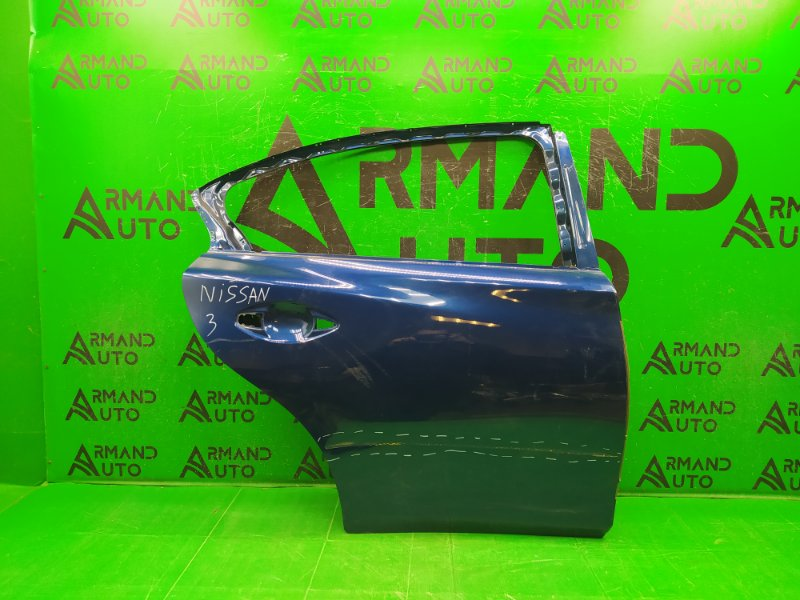 Дверь Infiniti Q50 V37 2013 задняя правая (б/у)