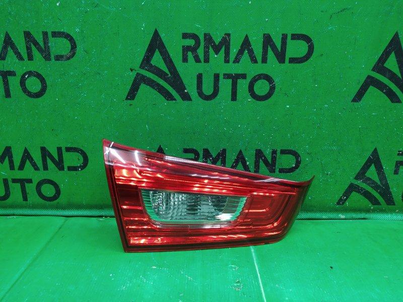 Фонарь внутренний Mitsubishi Asx 2010 левый (б/у)