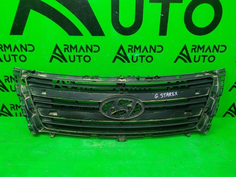 Решетка радиатора Hyundai Grand Starex 1 РЕСТАЙЛИНГ 2015 (б/у)