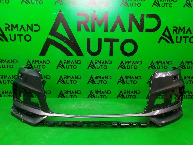 Бампер Audi Q3 8U РЕСТАЙЛИНГ 2014 передний (б/у)