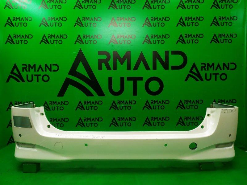 Бампер Toyota Alphard 2 2008 задний (б/у)