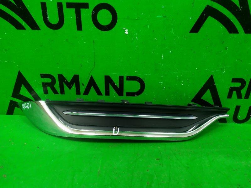 Накладка бампера Audi A8 D5 2017 задняя левая (б/у)