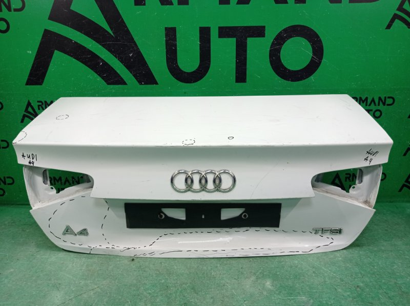Крышка багажника Audi A4 B8 2011 (б/у)