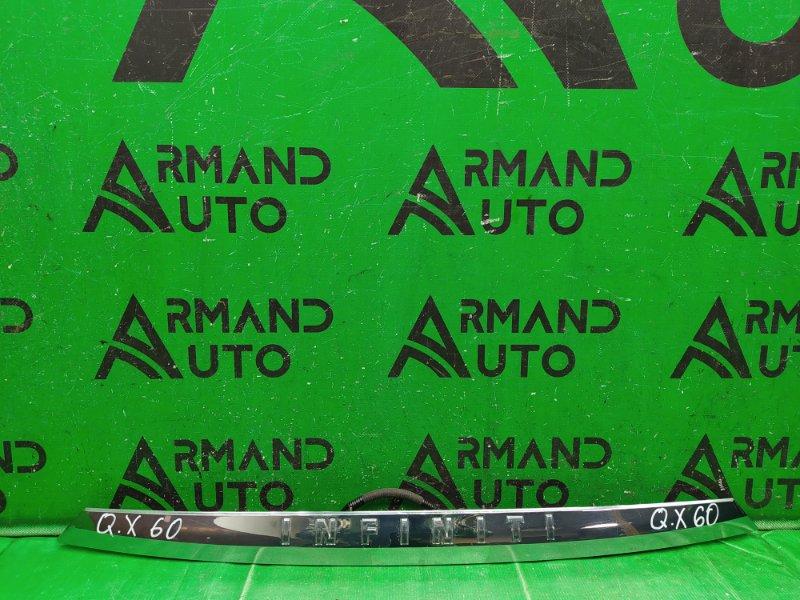 Накладка двери багажника Infiniti Jx Qx60 L50 2012 (б/у)