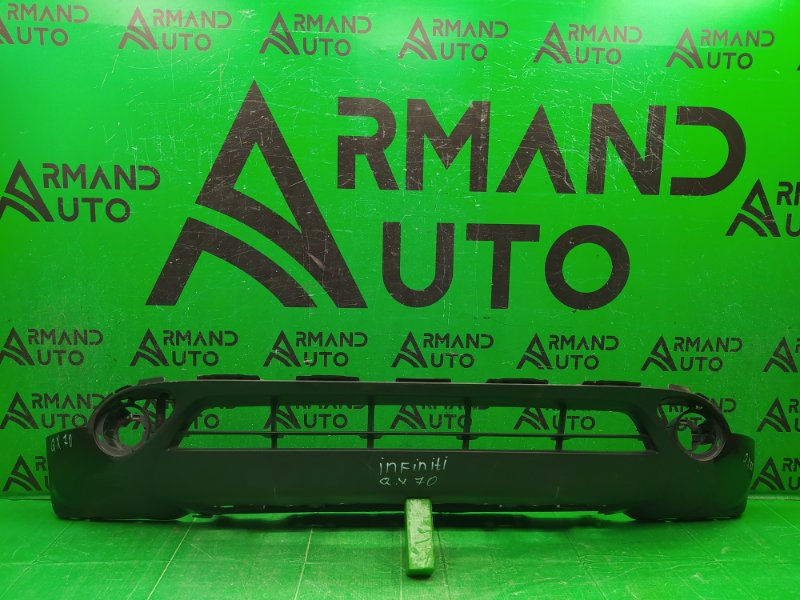 Юбка бампера Infiniti Qx70 S51 2013 передняя (б/у)