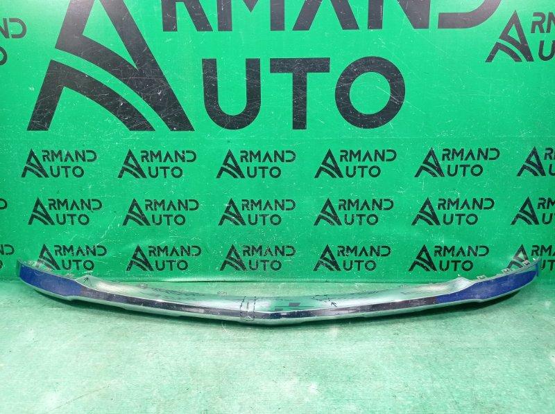 Накладка бампера Mercedes Gl X166 2012 передняя (б/у)
