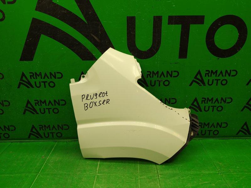 Крыло Peugeot Boxer 3 РЕСТАЙЛИНГ 2014 переднее правое (б/у)