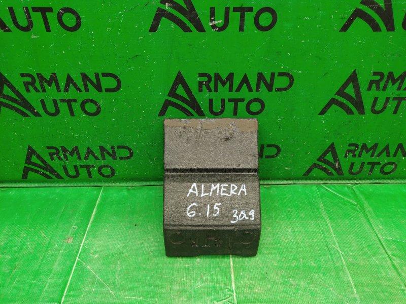 Абсорбер бампера Nissan Almera G15 2013 задний (б/у)