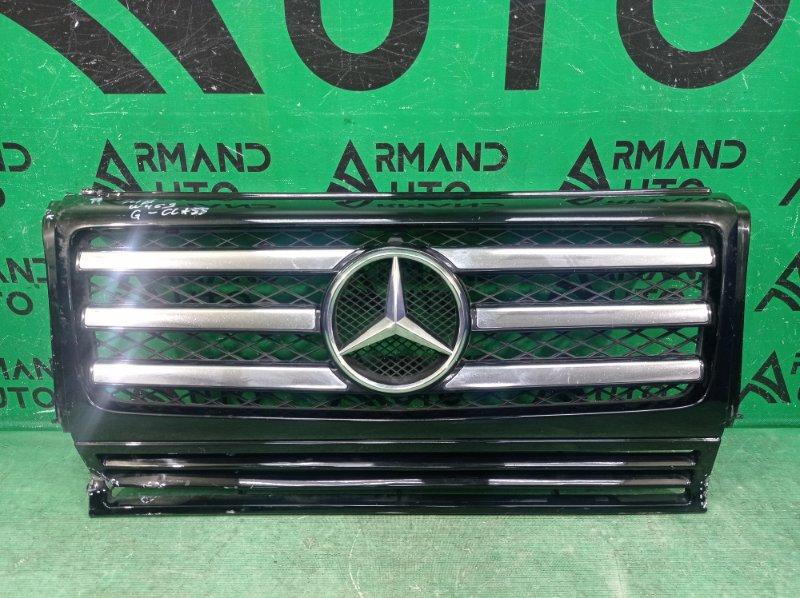 Решетка радиатора Mercedes G W463 2012 (б/у)