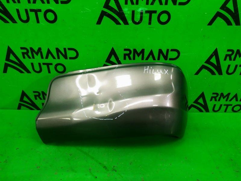 Накладка бампера Toyota Hilux 8 2015 задняя правая (б/у)
