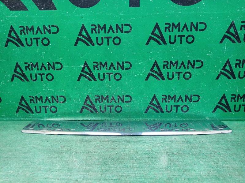 Накладка бампера Mercedes Ml W166 2011 задняя (б/у)
