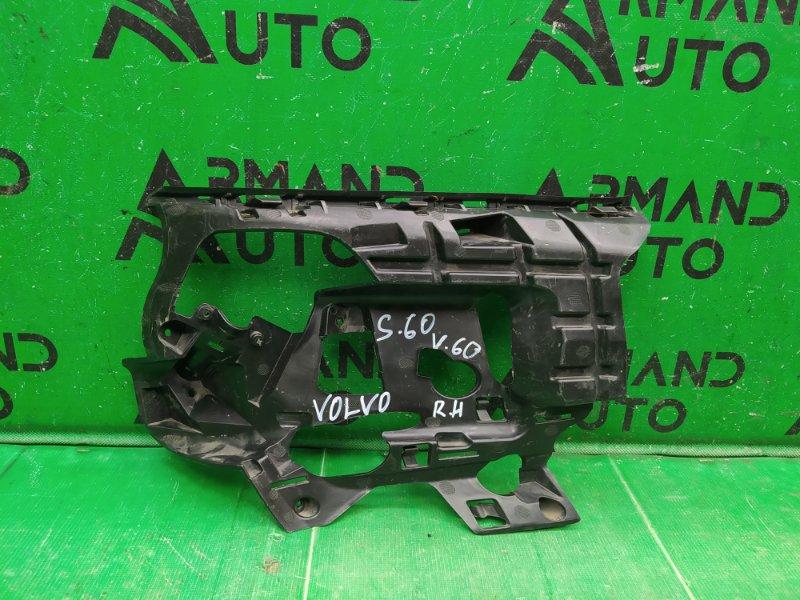 Кронштейн бампера Volvo S60 2 2010 правый (б/у)
