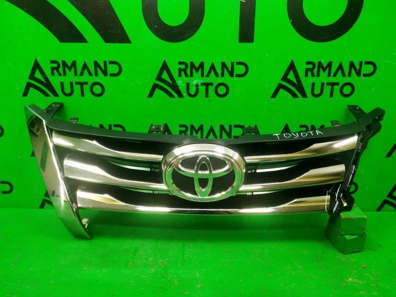 Решетка радиатора Toyota Fortuner 2 2015 (б/у)