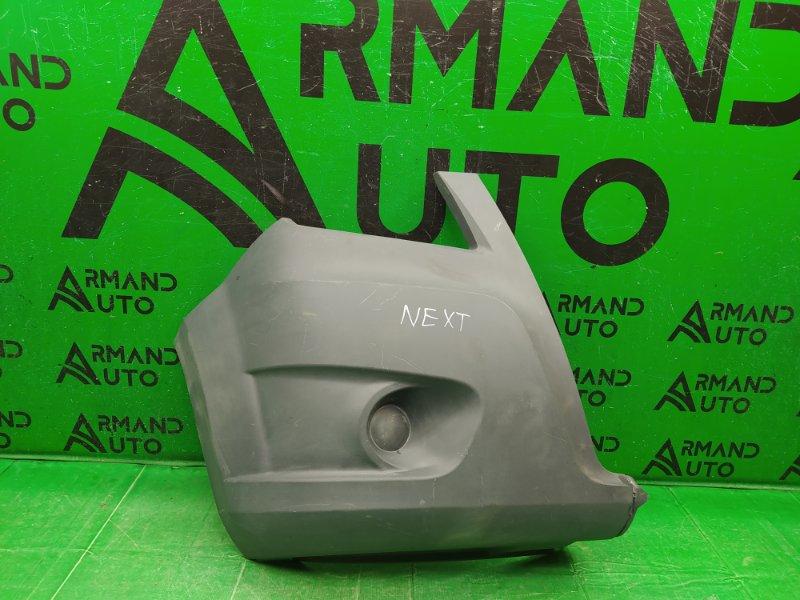 Накладка бампера Газель Next 2012 передняя правая (б/у)