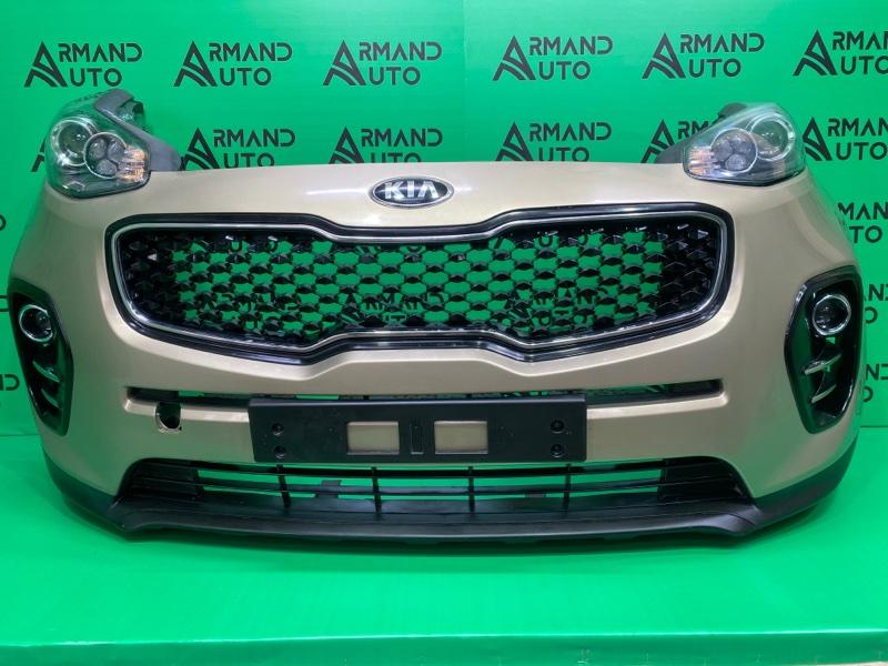 Бампер Kia Sportage 4 2016 передний (б/у)