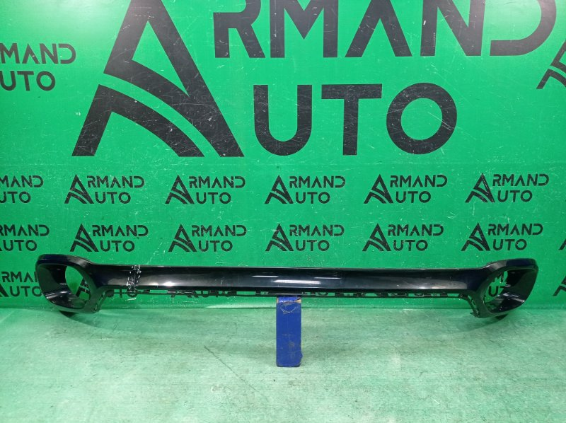 Юбка бампера Bmw X6 F16 2014 задняя (б/у)