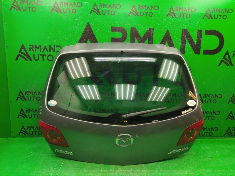 Дверь багажника Mazda Axela BK 2003 (б/у)