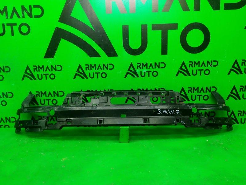 Кронштейн радиатора Bmw 7 F01 F02 2012 задний (б/у)
