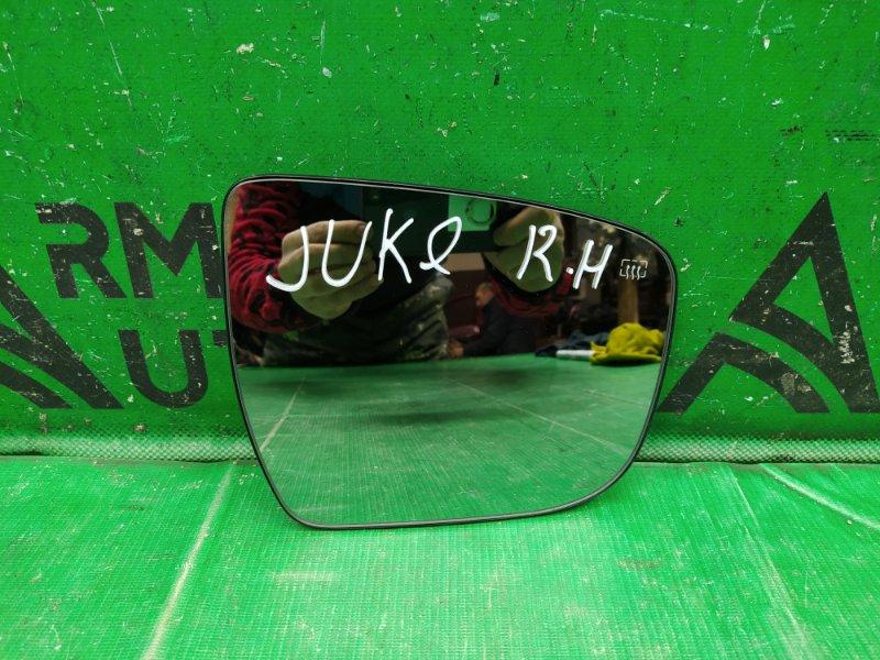 Зеркальный элемент Nissan Juke YF15 2010 правый (б/у)