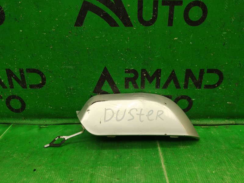 Заглушка буксировочного крюка Renault Duster РЕСТАЙЛИНГ 2015 задняя (б/у)
