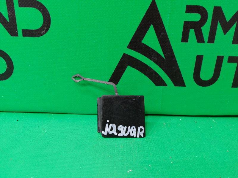 Заглушка буксировочного крюка Jaguar F-Pace 1 2016 задняя (б/у)