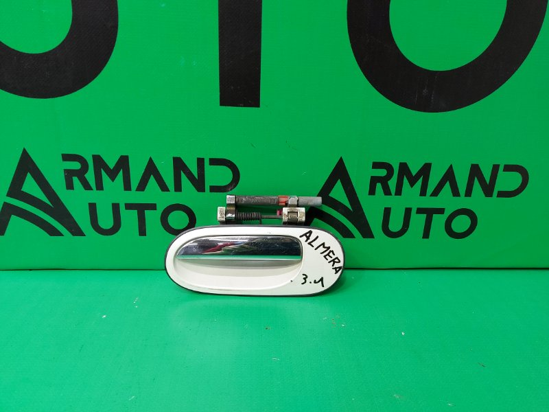 Ручка двери внешняя Nissan Almera ALMERA 2006 задняя левая (б/у)