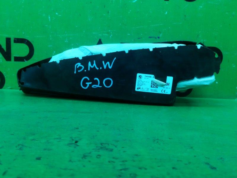 Подушка безопасности airbag Bmw 3 G20 2018 передняя правая (б/у)
