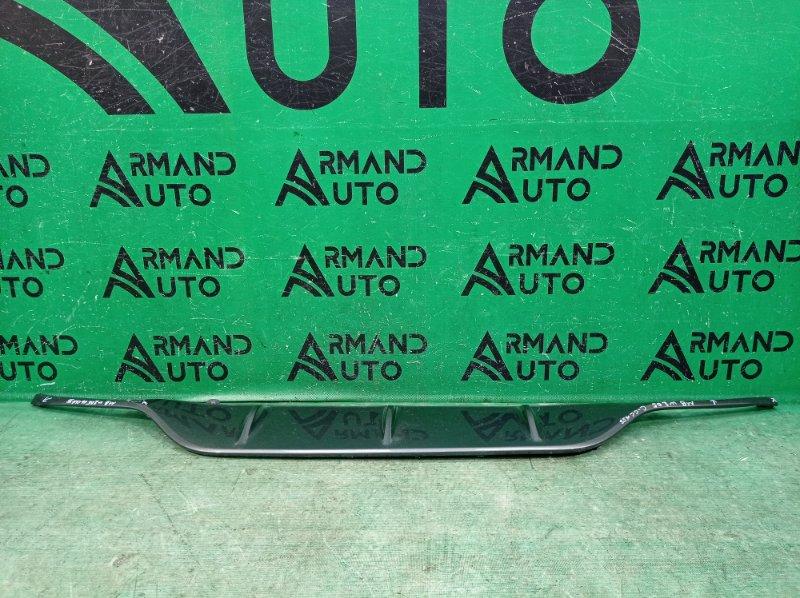 Накладка бампера amg Mercedes C W205 2014 задняя (б/у)