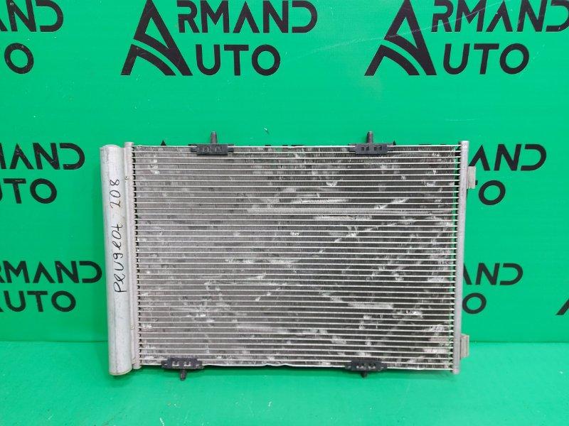 Радиатор кондиционера Peugeot 208 2012 (б/у)