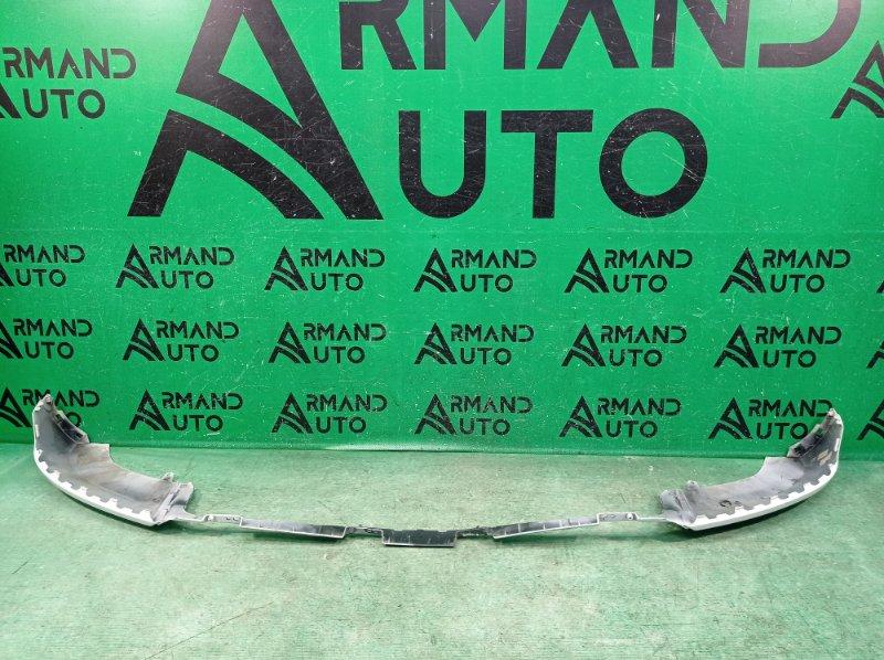 Губа бампера Audi Q3 8U 2011 передняя (б/у)