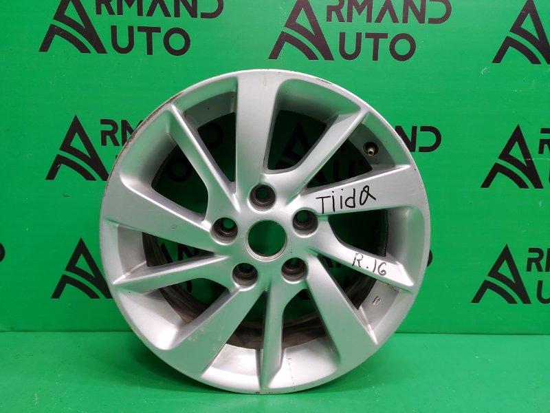 Диск r16 Nissan Tiida C13 2015 (б/у)