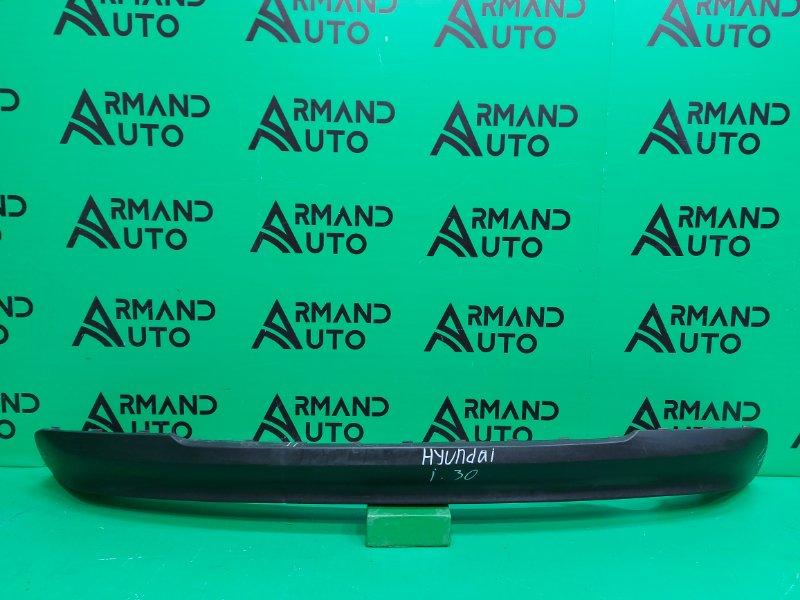 Юбка бампера Hyundai I30 3 2017 задняя (б/у)