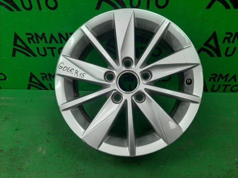 Диск r15 Volkswagen Golf 7 2012 (б/у)
