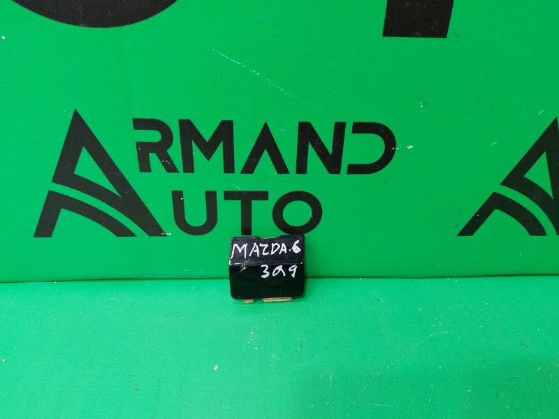 Заглушка буксировочного крюка Mazda 6 GJ 2012 задняя левая (б/у)