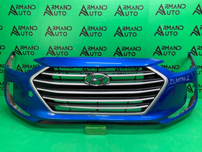 Бампер Hyundai Elantra 6 2016 передний (б/у)